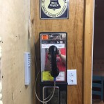 Payphone installed in my workshop